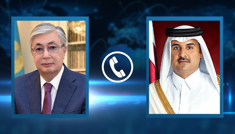 President Kassym-Jomart Tokayev had a telephone conversation with Amir of the State of Qatar Sheikh Tamim bin Hamad Al Thani