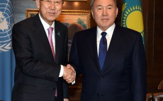 Meeting with the United Nations Secretary General Ban Ki-moon