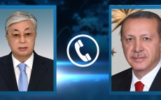 President Kassym-Jomart Tokayev had a telephone conversation with President of Turkey Recep Tayyip Erdoğan