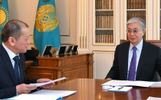 Head of State Kassym-Jomart Tokayev receives Minister of Labor and Social Protection of the Population Birzhan Nurymbetov