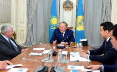 Meeting with Richard Evans, Independent Director of Samruk-Kazyna JSC, Member of the Board