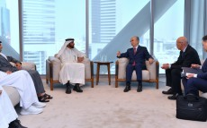 Kassym-Jomart Tokayev met with Mohammed Al Shaibani, Chief Executive Officer and Executive Director of the Investment Corporation of Dubai