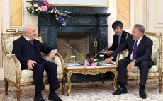 Meeting with ex-President of Israel Shimon Peres