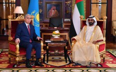 Kassym-Jomart Tokayev held talks with Mohammed bin Rashid Al Maktoum, Vice President and Prime Minister of the United Arab Emirates and Ruler of Dubai