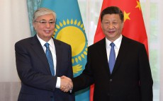President of Kazakhstan Kassym-Jomart Tokayev meets with Xi Jinping, President of the People's Republic of China
