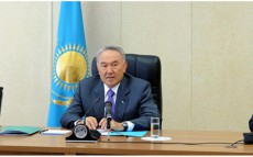 President Nursultan Nazarbayev Pays Working Visit to Atyrau Region