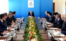 Visit to the construction site of Astana EXPO-2017 Exhibition Complex