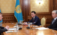 The Head of State receives Mikhail Dorofeyev, the Member of the National Council of Public Trust