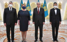 President Kassym-Jomart Tokayev receives Credentials from three foreign ambassadors