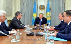 Meeting with Chairman of the Russian Federation State Duma Vyacheslav Volodin