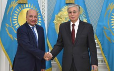 Head of State Kassym-Jomart Tokayev receives President of the European Bank for Reconstruction and Development (EBRD) Suma Chakrabarti